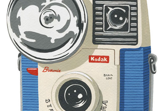 Illustration Camera