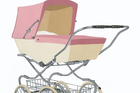 Illustration Pram